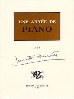 Lucette Descaves - Une année de piano - Partition - di-arezzo.fr