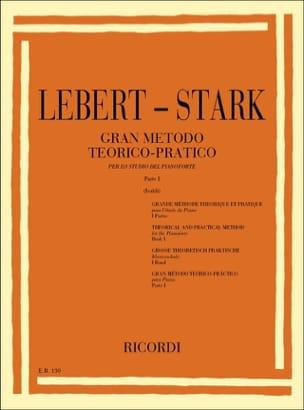 Grande Méthode Volume 1 Lebert-Stark Partition Piano - laflutedepan