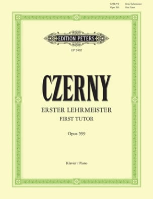CZERNY - The 1st Master Opus 599 - Sheet Music - di-arezzo.co.uk