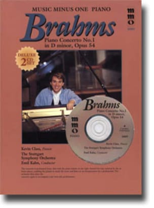 Johannes Brahms - Concerto pour piano N°1 Op. 15 En Ré Mineur - Partition - di-arezzo.fr