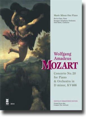 MOZART - Concerto Pour Piano N° 20 En Ré Mineur KV 466 - Partition - di-arezzo.fr