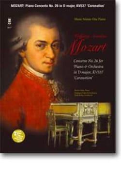 MOZART - Piano Concerto N° 26 K 537 - Partition - di-arezzo.fr