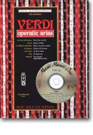 Opératic Arias Soprano - VERDI - Partition - Opéras - laflutedepan.com