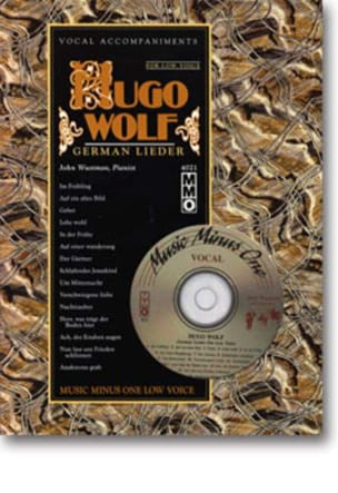 Hugo Wolf - Lieder Voix Grave - Partition - di-arezzo.fr