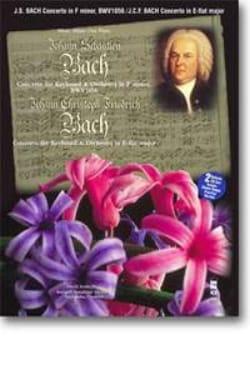 Bach Jean-Sébastien / Bach Johann Christoph Friedrich - Concerto En Fa Mineur BWV 1056 / Piano Concert En Mi Bémol Majeur - Partition - di-arezzo.fr