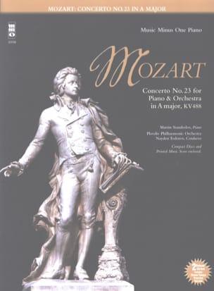 MOZART - Concerto Pour Piano n° 23 En la Majeur KV 488 - Partition - di-arezzo.fr