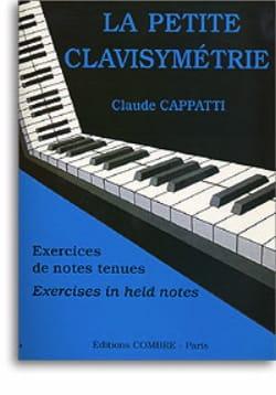 Claude Cappatti - La Petite Clavisymétrie - Partition - di-arezzo.fr
