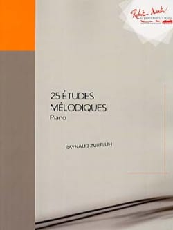 Sylvie Raynaud-Zurfluh - 25 Melodic studies - Sheet Music - di-arezzo.com