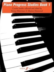 Piano Progress Studies Vol 1 - Waterman / Harewood - laflutedepan.com