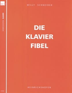 Die Klavier Fibel Opus 59 - Willy Schneider - laflutedepan.com