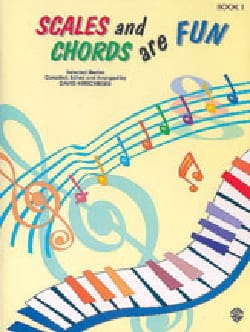 Scales And Chords Are Fun. Volume 1 David Hirschberg laflutedepan