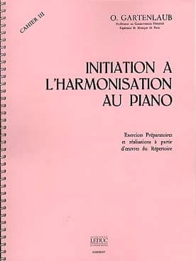 Odette Gartenlaub - Introduction to Piano Harmonization - Volume 3 - Sheet Music - di-arezzo.co.uk
