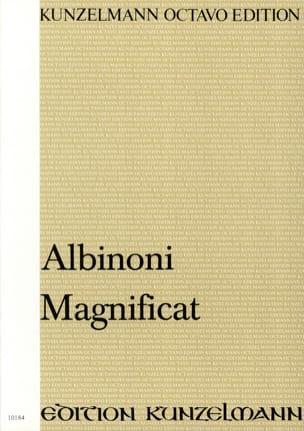Tomaso Albinoni - Magnificat. Conducteur - Partition - di-arezzo.fr
