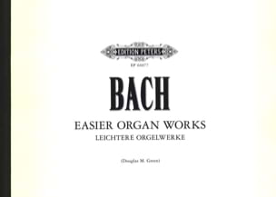 BACH - Oeuvres Faciles - Partition - di-arezzo.fr