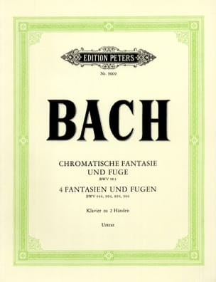 Fantaisies et Fugues - BACH - Partition - Piano - laflutedepan.com