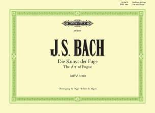 Jean-Sébastien Bach - Die Kunst Der Fuge BWV 1080 - Partition - di-arezzo.fr