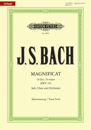 BACH - Magnificat in D Major - Sheet Music - di-arezzo.com