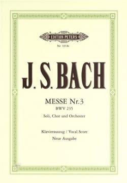 Messe en Sol Mineur BWV 235 - Jean-Sébastien Bach - laflutedepan.com