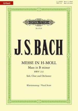 BACH - Messe En Si Mineur BWV 232 - Partition - di-arezzo.fr