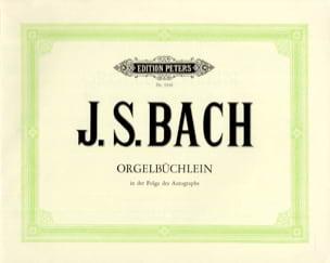Jean-Sébastien Bach - Orgelbüchlein BWV 599-644 - Partition - di-arezzo.fr