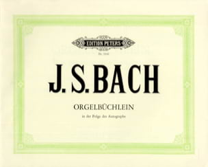 BACH - Orgelbüchlein BWV 599-644 - Sheet Music - di-arezzo.co.uk