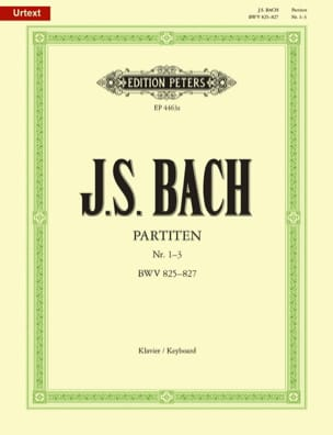 Partitas. Volume 1 BACH Partition Piano - laflutedepan