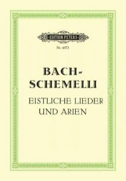 BACH - Schemelli-Lieder. Voix Haute - Partition - di-arezzo.fr