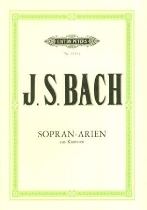 Jean-Sébastien Bach - 15 Airs de Cantates pour Soprano - Partition - di-arezzo.fr