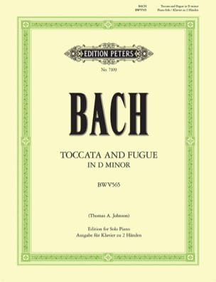 BACH - Toccata and fugue in D minor BWV 565 - Sheet Music - di-arezzo.co.uk