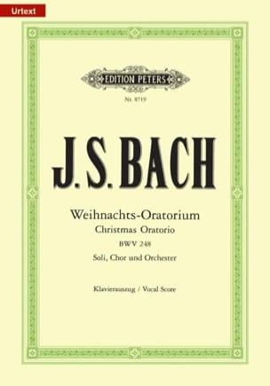 BACH - Weihnachts-Oratorium BWV 248 - Sheet Music - di-arezzo.co.uk