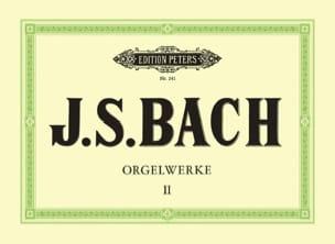 Orgelwerke. Volume 2 BACH Partition Orgue - laflutedepan