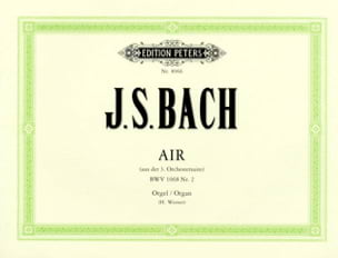 BACH - Air of Suite 1068 - Sheet Music - di-arezzo.com