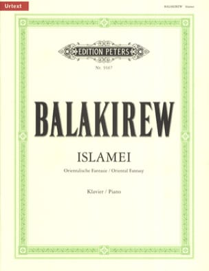 Islamey Mili Balakirev Partition Piano - laflutedepan