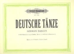 Danses Allemandes - Ludwig van Beethoven - laflutedepan.com