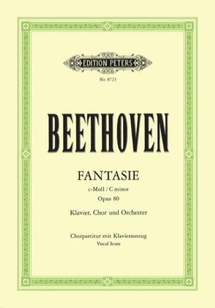 BEETHOVEN - Fantasie - Opus 80 - Sheet Music - di-arezzo.co.uk