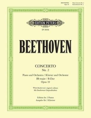 Concerto Pour Piano N°2 Opus 19 En Si Bémol Majeur laflutedepan