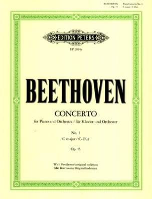 Concerto Pour Piano N°1 Opus 15 en Do Majeur BEETHOVEN laflutedepan