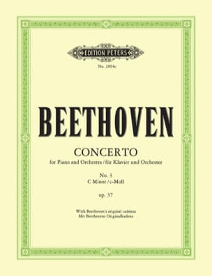 BEETHOVEN - Piano Concerto No. 3 Opus 37 In C Minor - Sheet Music - di-arezzo.com