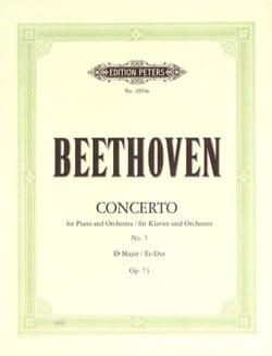 BEETHOVEN - Concerto pour piano N°5 Opus 73 En Mi Bémol Majeur - Partition - di-arezzo.fr