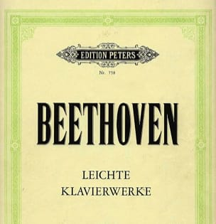 BEETHOVEN - Leichte Klavierweke - Partition - di-arezzo.fr