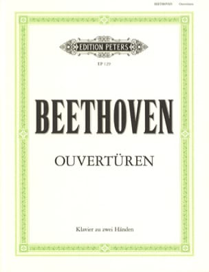 BEETHOVEN - overtures - Sheet Music - di-arezzo.co.uk