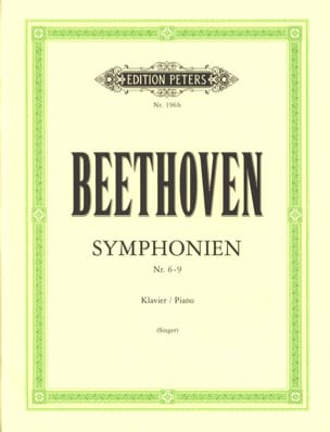 BEETHOVEN - Symphonies 6-9 - Sheet Music - di-arezzo.co.uk
