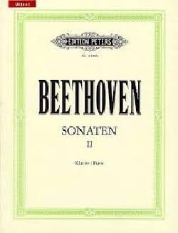 Ludwig van Beethoven - Sonates pour piano Volume 2 - Partition - di-arezzo.fr