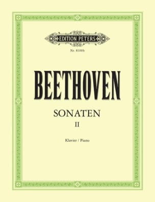 Sonates pour piano. Volume 2 BEETHOVEN Partition Piano - laflutedepan