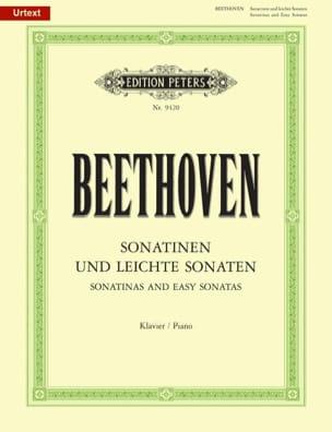 Ludwig van Beethoven - Sonatinen Und Leichte Sonaten - Partition - di-arezzo.fr