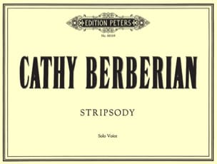 Cathy Berberian - Stripsody. - Partition - di-arezzo.fr