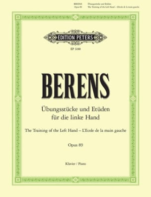 Hermann Berens - School of the Left Hand Opus 89 - Sheet Music - di-arezzo.com