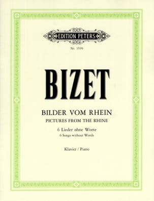 BIZET - Rhine songs - Sheet Music - di-arezzo.co.uk