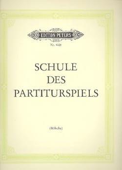 Schule des Partiturspiels Bölsche Partition Piano - laflutedepan