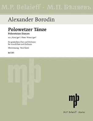 Polowetzer Tänze. Prince Igor - Alexandre Borodine - laflutedepan.com